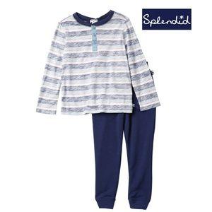 Splendid Reverse Stripe Toddler Boys 2-piece Set